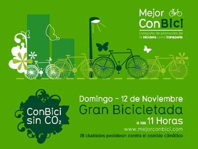 El domingo, bicicletada