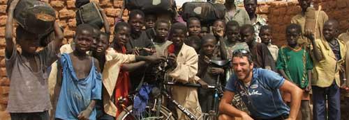 Alvaro Neil, el biciclown