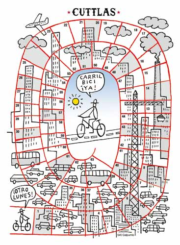 Carril bici ya-El bueno de Cuttlas