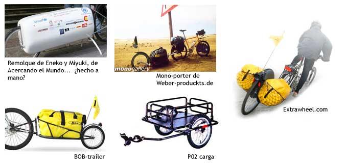 Trailers para bicis