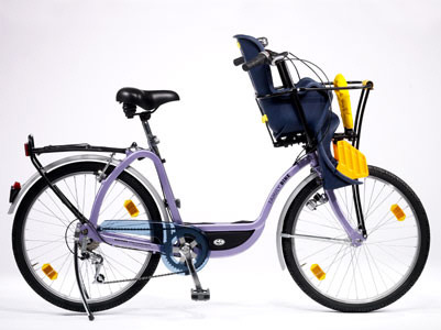 Viajar con ni os i c mo llevar a los ni os en bici - Sillas para bicicletas para ninos ...