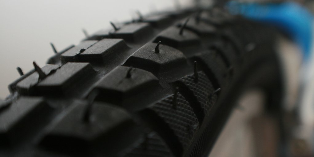 Bike tire por kjbphotography
