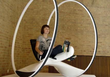 Este prototipo de bicicleta es capaz de rodar por tierra y por mar