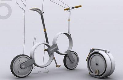 Se dobla una rueda dentro de otra y voilá