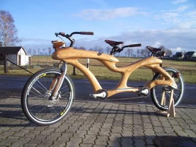 Tándem de madera