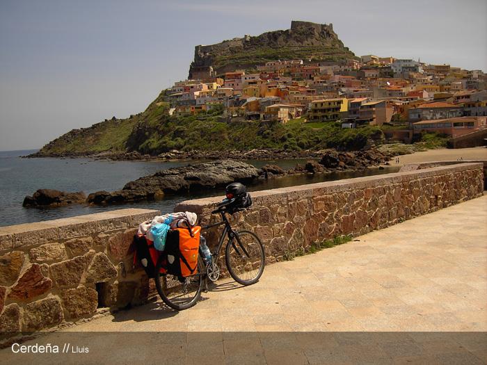 Cicloturismo en la isla italiana