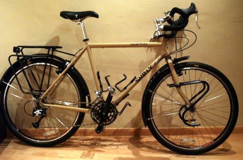 uno-cero la bici de Álvaro