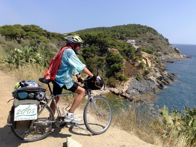 Foto de una etapa de la edición de 2008 entre Cala Giverola y Playa Illa Roig