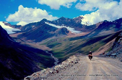 Montañas en Kirguizystán