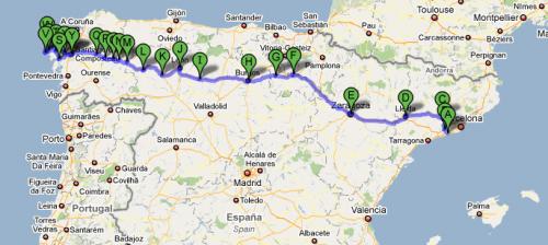 Amigos del Apostol y del Camino de Santiago de Barcelona.