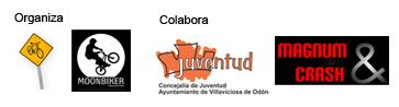 Organiza Moonbiker adventure y Rodadas.net. Colabora el Ayuntamiento de Villaviciosa de Odón y Magnum&Crash