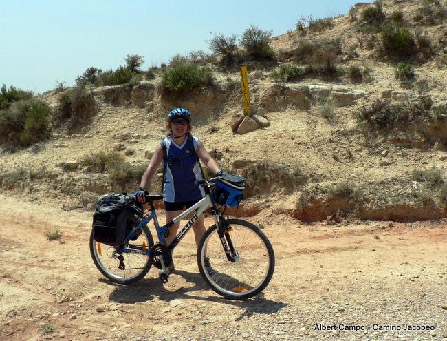 Cruzando el meridiano de Grenwich en Aragón