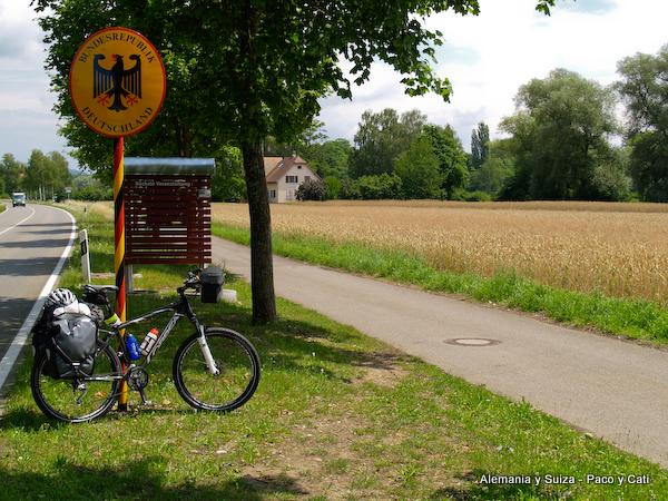 Carreteras alemanas para bici