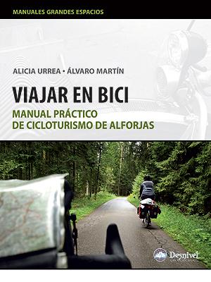 """Portada del libro """"Viajar en Bici"""""""
