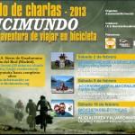 cartel de las Jornadas Bicimundo 2013