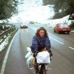 Cruzando los Alpes. No parece que fuera un día divertido