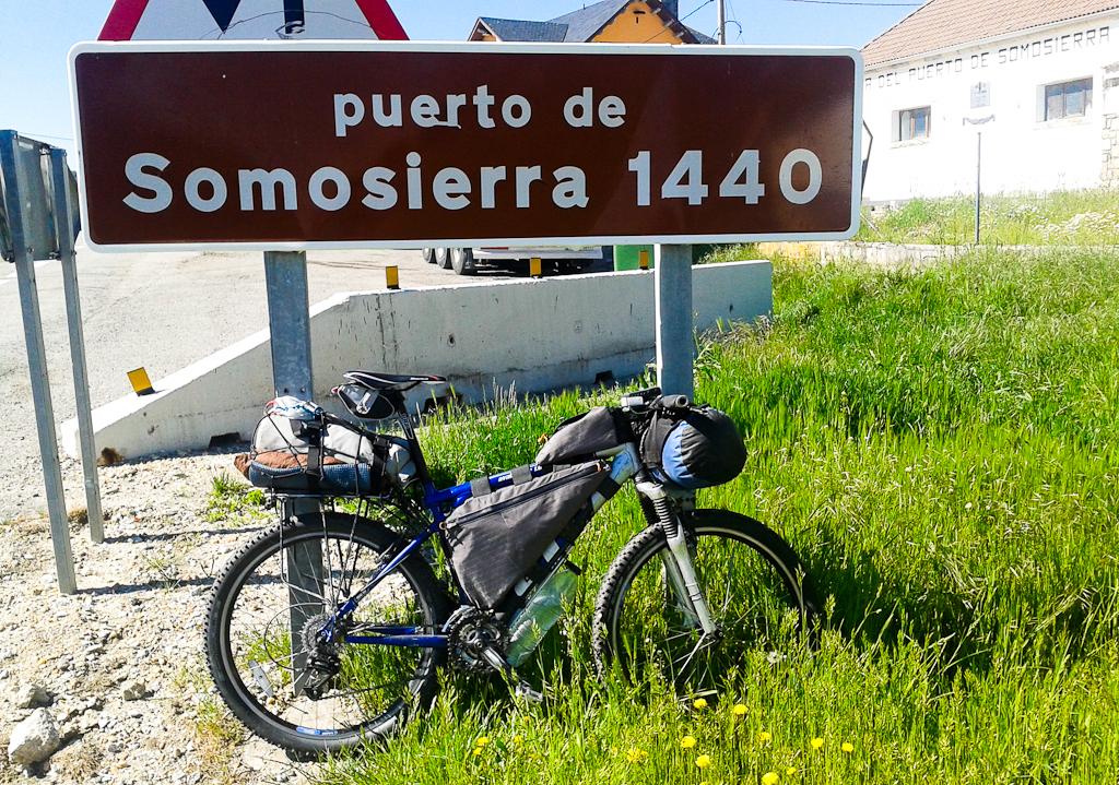 Ciclismo de Travesía en la Sierra de Somosierra
