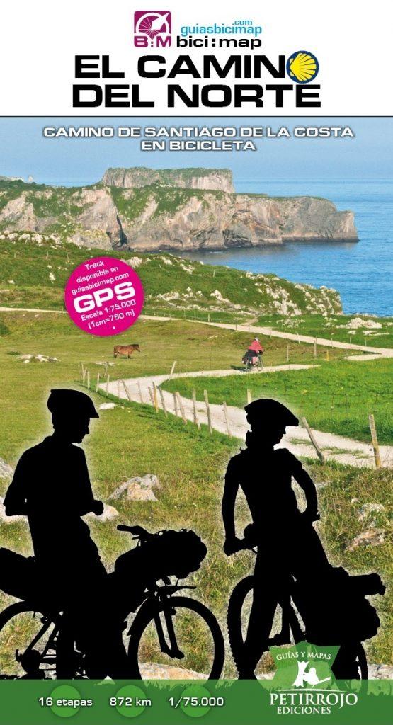 Portada de la Guía El Camino del Norte en bicicleta.